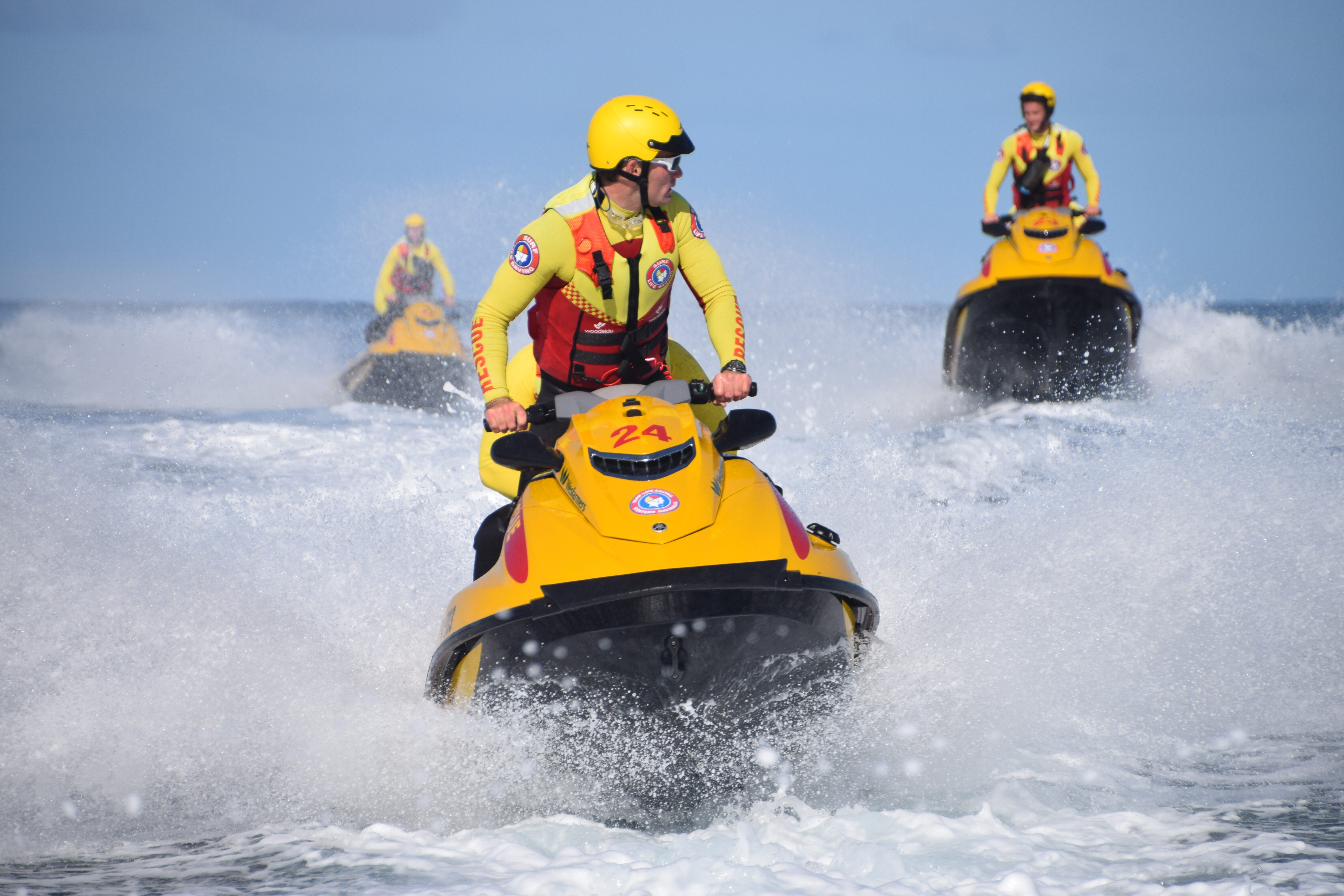 The Wesfarmers Jet Ski Program is an integral element of Surf Life Saving WA's life saving services. Got what it takes? Then join us!