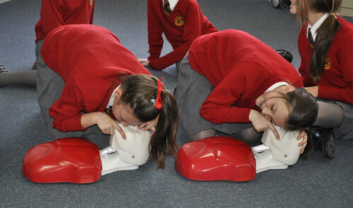 first aid training for school aged kids