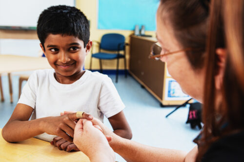 First Aid at schools and child care centres
